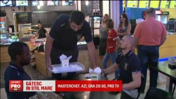 VIDEO | In saptamana in care Masterchef a revenit la ProTV, stelistii s-au apucat de gatit :)