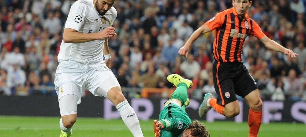 """""""Mircea Lucescu e imens, e special, dar noi am controlat jocul"""". Ce spune Rafa Benitez dupa Real 4-0 Sahtior. Ucrainienii acuza arbitrajul"""