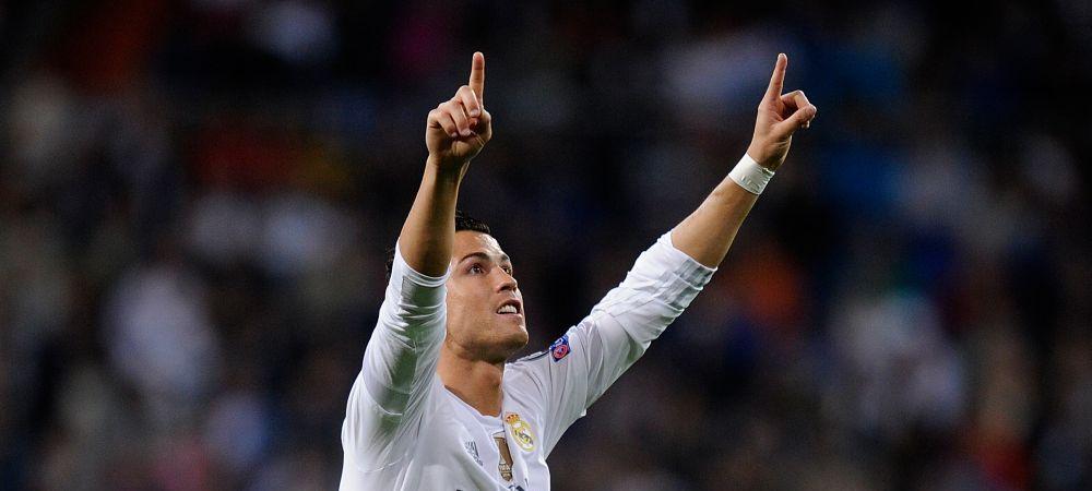 """""""ACUM SUNT BUN!"""" Cum a reactionat Cristiano Ronaldo dupa ce i-a dat 3 goluri lui Lucescu in Champions League"""