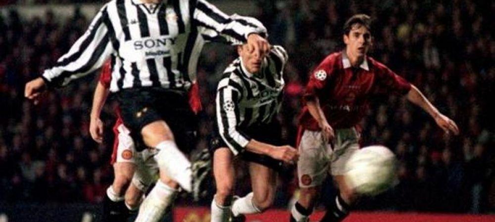 MOMENT ISTORIC! Juventus a castigat in Anglia pentru prima data in 20 de ani! Cum arata echipa din 1996 care o batea pe Man United