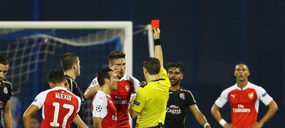 Atacul lansat de Wenger la adresa lui Hategan dupa ce Arsenal a pierdut la Zagreb in debutul din acest sezon de Champions League