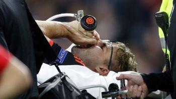 FOTO 18+ | Pustiul Luke Shaw, accidentat in meciul lui Manchester United cu PSV, a fost operat. Cum poate sa arate piciorul sau