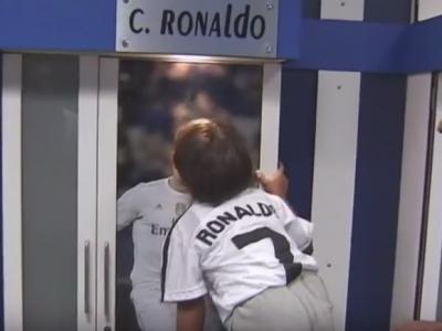 Impresionant! Refugiatul impiedicat de jurnalista din Ungaria, primit in casa Realului! Cum a reactionat fiul sau cand a vazut o poza cu Ronaldo: VIDEO