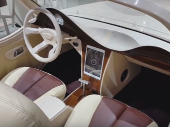 Imagini impresionante cu prima masina romaneasca decapotabila: a fost prezentata la Salonul Auto de la Frankfurt! VIDEO