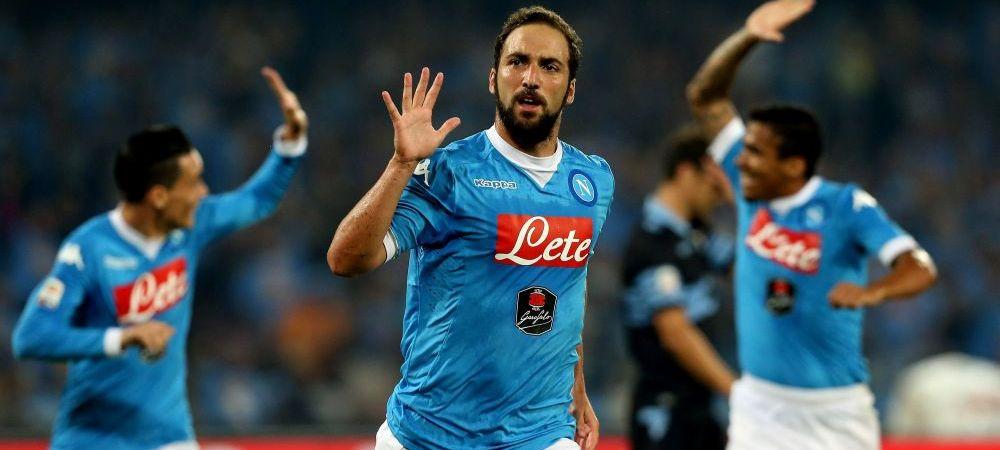 Napoli 5-0 Lazio: Radu Stefan, zdrobit pe San Paolo, Chiriches a fost doar rezerva! Barca a ucis-o pe Levante in 10 minute, 4-1: dubla Messi! Totti, golul 300 la Roma