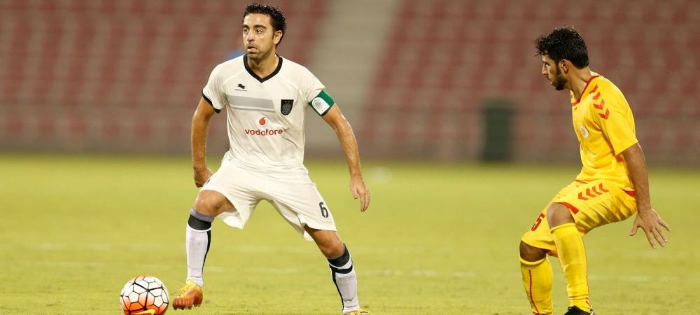 A avut nevoie de 12 minute ca sa ii uimeasca pe toti! Ce pasa de gol a dat Xavi pentru Al Sadd. VIDEO