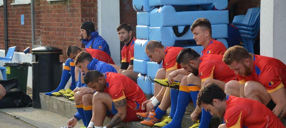 FOTO: Super imagini din timpul antrenamentului Romaniei inainte de primul meci la Cupa Mondiala de rugby! Programul partidelor noastre