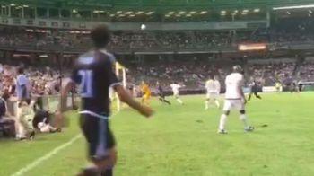 Pirlo, din nou GENIU! Sut FABULOS direct din corner, mingea a luat un efect extraterestru. VIDEO