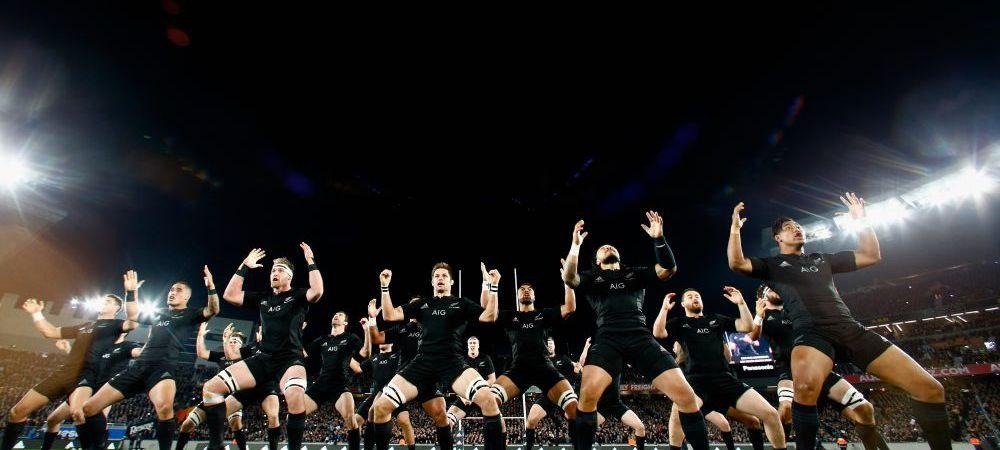 Tot stadionul Wembley s-a ridicat in picioare si a TACUT, Noua Zeelanda a declansat HAKA! VIDEO FENOMENAL de la Cupa Mondiala
