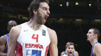 """Spania este noua campioana a Europei dupa 80-63 in finala cu Lituania! Pau Gasol, erou national: """"Europa e la picioarele lui!"""""""