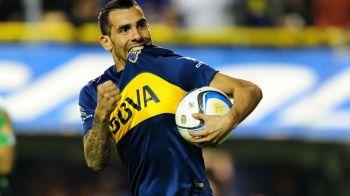 Tevez, inger si diavol in Argentina! Fostul star al lui City si Juventus i-a rupt piciorul unui adversar, cu o intrare teribila, dar a dat si o dubla