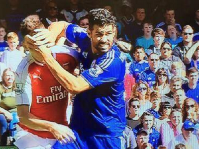 "Diego Costa risca sa fie suspendat, chiar daca nu a fost eliminat cu Arsenal! Jucatorii lui Chelsea se amuza: ""Cu totii stim ca e un trisor"""