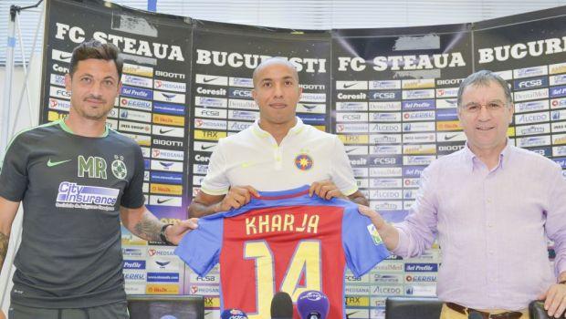 Efectul FENOMENULUI Kharja la Steaua! 3 lucruri incredibile care s-au schimbat la primele sale 45 de minute in teren