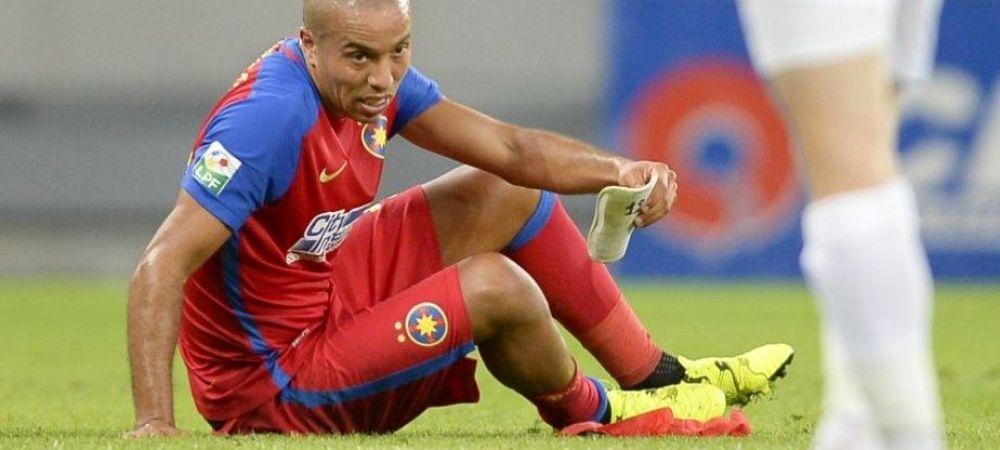"""Kharja a vorbit dupa meci: """"Ma durea foarte tare piciorul!"""" Ce se intampla dupa ce a impresionat la debut si a iesit accidentat"""