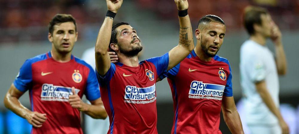 "Un an de la ultimul meci cand Steaua a avut 3-0 la pauza. Galca era antrenor, golurile au fost marcate de Keseru! Doar 3 jucatori mai sunt in primul ""11"""