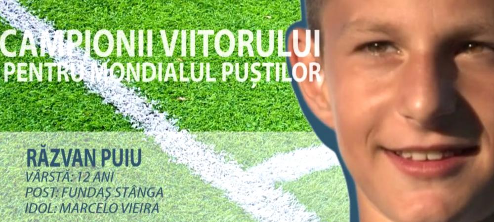 """Constelatia celor 12   Il iubeste pe Marcelo si vrea sa-i calce pe urme lui Rat la nationala: """"Cred in visul meu de a ajunge un mare fotbalist"""""""
