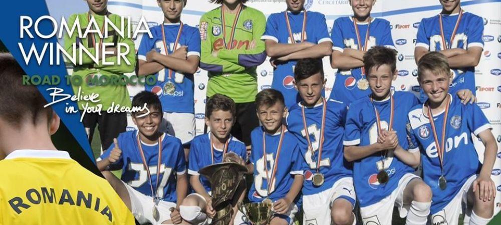 Maroc, venim   Sansa pentru Romania la Cupa Natiunilor Danone: Academia Hagi se bate in grupe cu reprezentantele Chinei, Canadei si Indoneziei