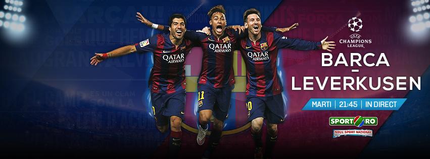 Ne vedem marti si joi cu super-fotbal | Barca - Leverkusen in UCL si Celtic - Fener in Europa League - LIVE la Sport.ro!