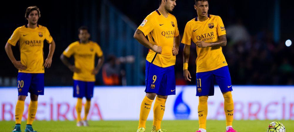 Barcelona, la prima infrangere la o diferenta de 3 goluri in SAPTE ANI. Catalanii au pierdut primul loc dupa un meci uimitor: Celta a defilat pe teren