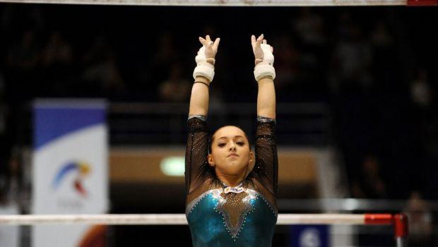 Larisa Iordache, in forma inaintea Mondialelor de Glasgow. Gimnasta, aur la Nationale, in proba de individual compus