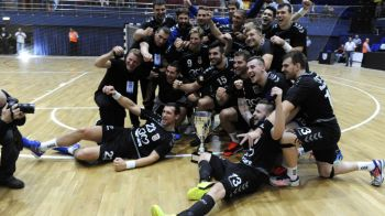 Prima victorie in grupele Ligii pentru Minaur Baia Mare: 35-30 cu Motor Zaporoje, intr-o atmosfera superba
