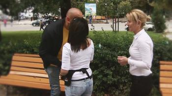 """""""Vaaaai, pot sa te pup?"""" Scena GENIALA pe strada! Ce fotbalist de legenda le-a facut o surpriza fanilor! VIDEO"""