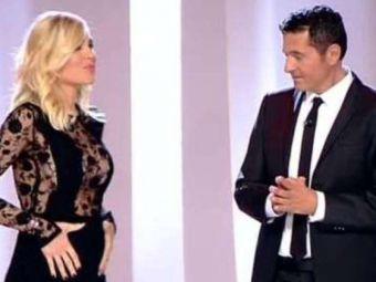 Ilary Blasi, sotia lui Totti, a anuntat in direct la TV ca este insarcinata
