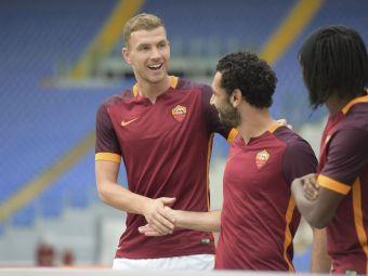 AS Roma i-a cumparat definitiv pe Dzeko si Salah, de la Manchester City si Chelsea. Giallorossi au planuri mari pentru acest sezon