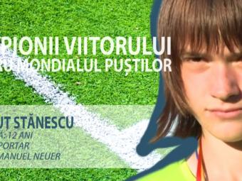 Constelatia celor 12   Supertare! Il recunosti? Fiul unuia dintre cei mari portari romani va apara Romania la Cupa Natiunilor Danone