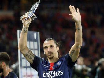 Ibrahimovic a devenit cel mai bun marcator din istoria lui PSG in 3 ani! Rihanna a venit sa-l aplaude! VIDEO