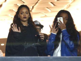 A prins-o in capcana | Cine e norocosul care a cucerit-o pe Rihanna. Cantareata a fost la ultimul meci al lui PSG pentru a-l vedea