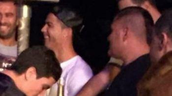 VIDEO Cristiano Ronaldo, aparitie surpriza in Maroc! Portughezul s-a distrat alaturi de fostul campion din K1, Badr Hari!