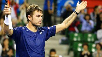 Stan is the man | Wawrinka a castigat cel de-al patrulea turneu al anului, dupa ce s-a impus la Tokyo