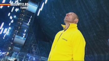 Stelea a sarbatorit calificarea nationalei in Salina Turda! Ce i-a pus sa faca pe fanii Romaniei! VIDEO