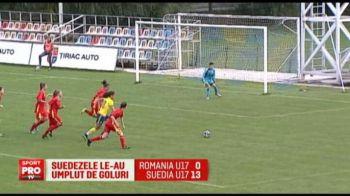 Nationala U17 a luat...sub 14 | Junioarele Romaniei la fotbal feminin nu mai au sanse la calificarea la Turneul de Elita: VIDEO