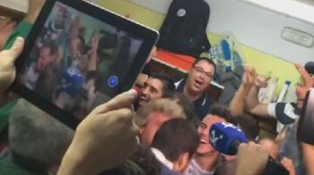 Nebunie de nedescris in vestiarul echipei care va juca cu Barca in Cupa Spaniei! Jucatorii, in delir, dupa ce au aflat ca ii intalnesc pe Messi, Suarez si Neymar