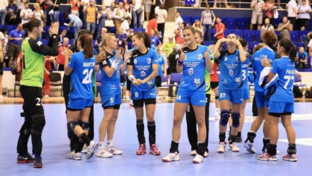 Doua victorii romanesti in Liga Campionilor: CSM Bucuresti 33-21 MKS Lublin, Krim 27-33 HCM Baia Mare