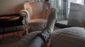 FOTO SOCANT! Cum arata piciorul Soranei Cirstea dupa ce si-a rupt un deget la antrenament! Poza postata de jucatoarea din Romania