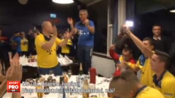 """In Feroe s-a nascut """"Balada fotbalistului!"""" Jucatorii nationalei au cantat-o impreuna cu Iordanescu si Burleanu: VIDEO"""