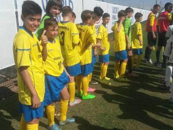 Ei sunt viitorul fotbalului   Pustii care viseaza sa calce pe urmele lui Messi si Ronaldo au jucat la Cupa Natiunilor Danone. Ce au facut romanii