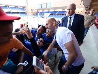 FOTO & VIDEO   Experienta de neuitat pentru micii fotbalisti romani: Zinedine Zidane a mers la Cupa Natiunilor Danone
