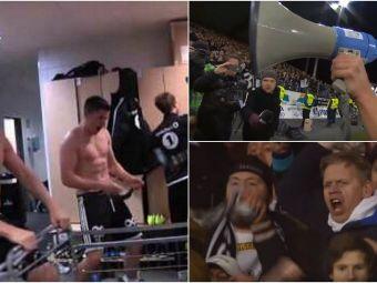 Mai tii minte ritualul senzational al norvegienilor de la Rosenborg? Echipa care a eliminat Steaua din Europa a luat titlul, iar stadionul a luat-o razna: VIDEO
