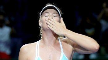 De peste un an Sharapova astepta acest moment! Performanta stabilita prin victoria in fata Simonei Halep