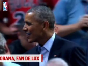 A inceput noul sezon in NBA, iar Obama n-a ratat startul: Presedintele Americii s-a bucurat pentru victoria favoritilor de la Chicago Bulls