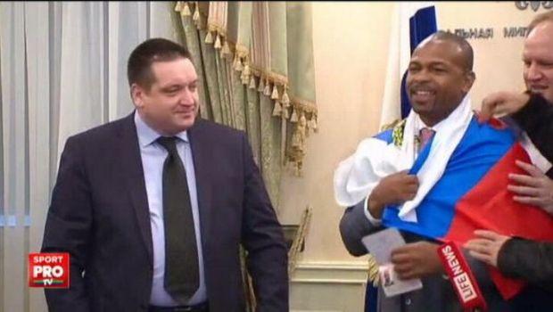 Inedit: legenda boxului american, Roy Jones Jr, si-a luat cetatenia...rusa. Pugilistul, primit de Putin: VIDEO
