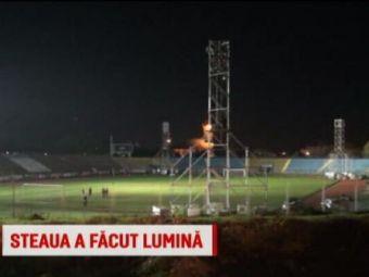 Baia Mare - Steaua, 20:30, la Sport.ro | Stelistii se roaga sa nu cada nocturna pe ei! Cum arata arena pe care vor juca in Cupa