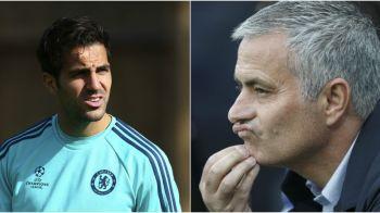 """Reactia lui Fabregas, dupa ce a fost acuzat ca e """"cartita care il lucreaza pe Mourinho"""". Ce spune despre relatia sa cu portughezul"""