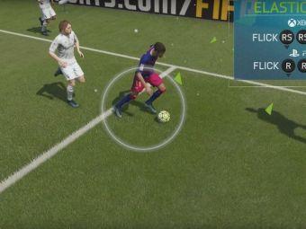 SCHEMELE din FIFA 16 la care nici nu visai pana acum! Cum poti inscrie cu o RABONA din lovitura libera
