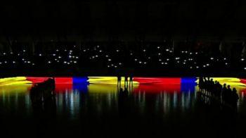 Toate luminile s-au stins, fanii s-au ridicat in picioare! Momentele emotionante care au urmat inainte de Steaua - Dinamo la baschet in memoria victimelor din Colectiv