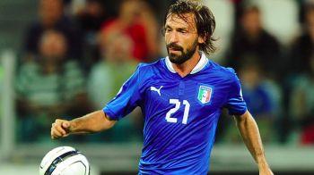 Pirlo, OUT din nationala Italiei din cauza transferului in SUA! Conte anunta ca nu-l ia la EURO daca nu revine in Serie A